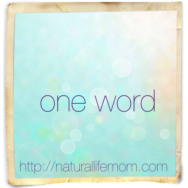 one word challenge: A Little Bit of All of It