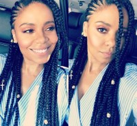 Sanaa Lathan Is Rocking Box Braids, And We Love It ...