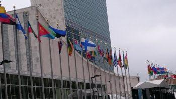 国連ビルの写真