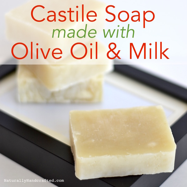 homemade castile soap bars