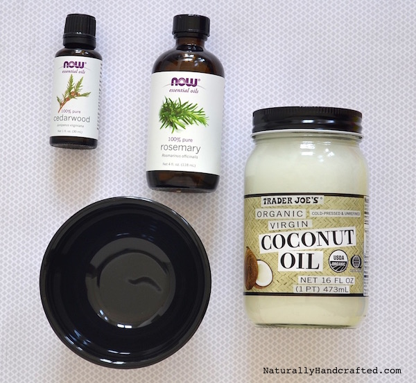 ingredients for diy hair growth mask