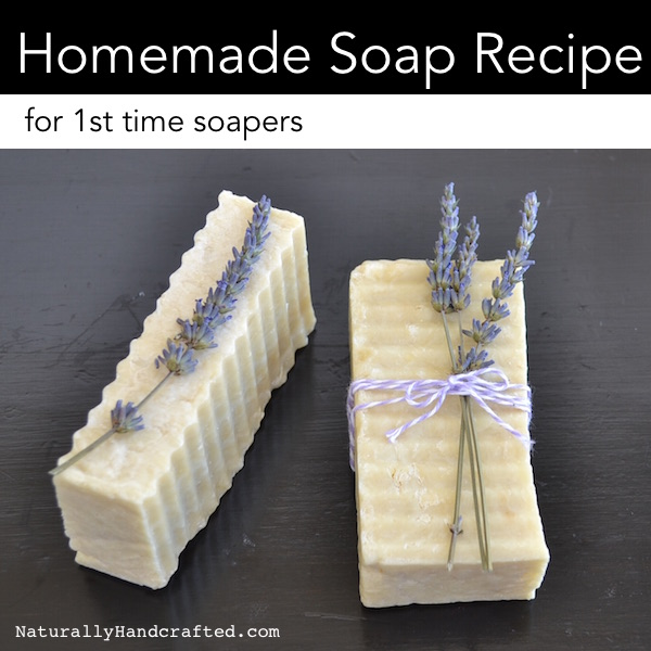 easy homemade soap for 1st time soapers