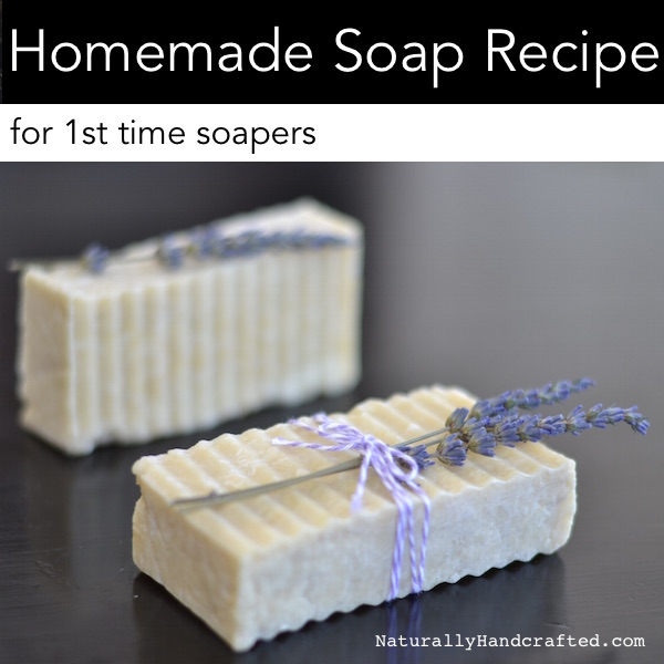easy homemade soap recipe