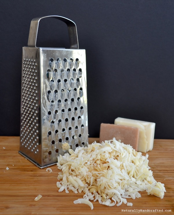 grate soap for homemade laundry detergent without borax