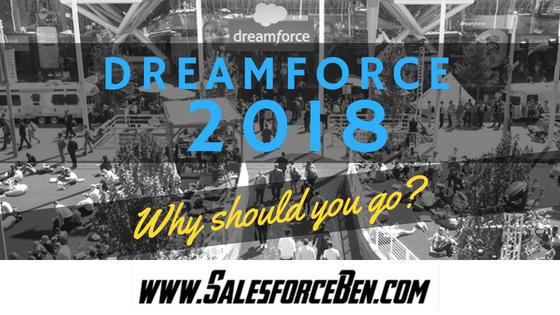 Dreamforce 2018 banner