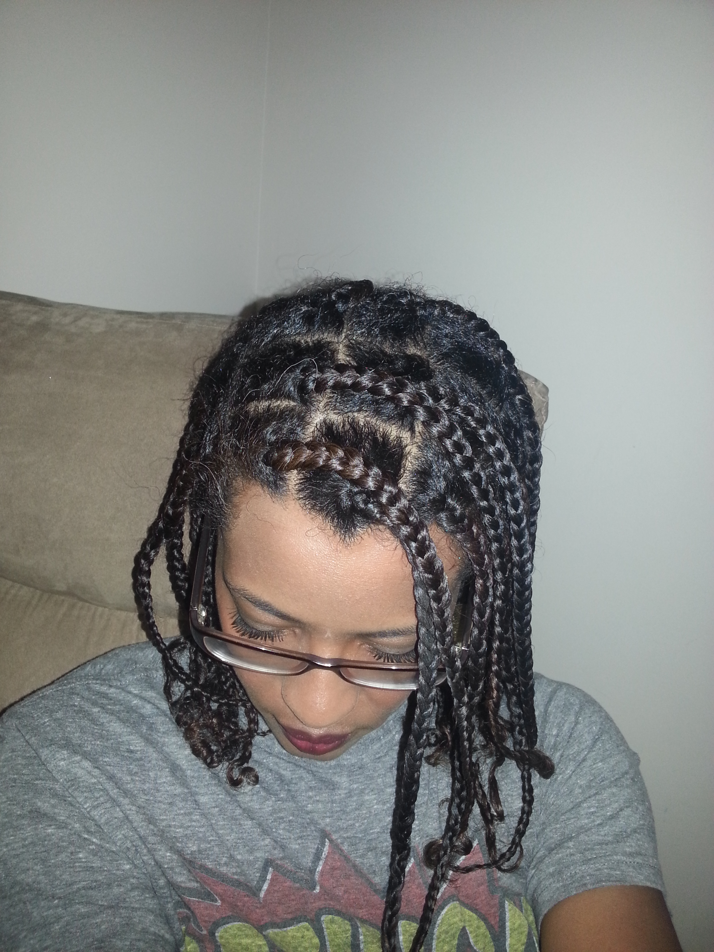 No Box Braids Extensions For Me Naturally Kinkerbelle