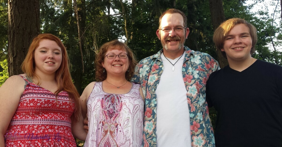 Liz and Family (about me)