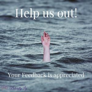 Your Feedback is appreciated-naturallyliz.com