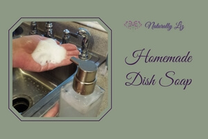 Homemade Dish Soap (Foaming, Soy Free, and More Natural)