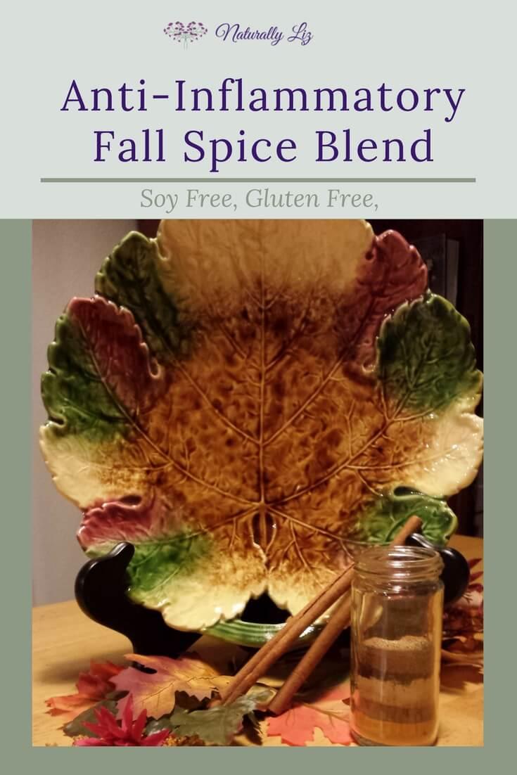 Fall Spice Blend-Anti-Inflammatory, soy free, gluten free~Naturallyliz.com