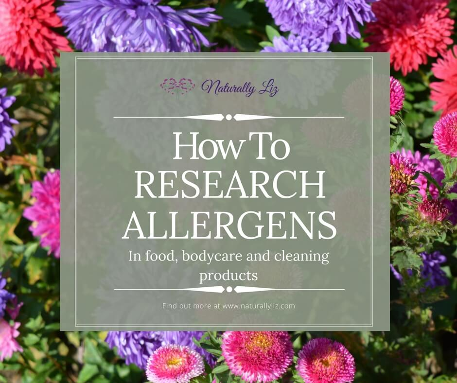 How to Research Allergens