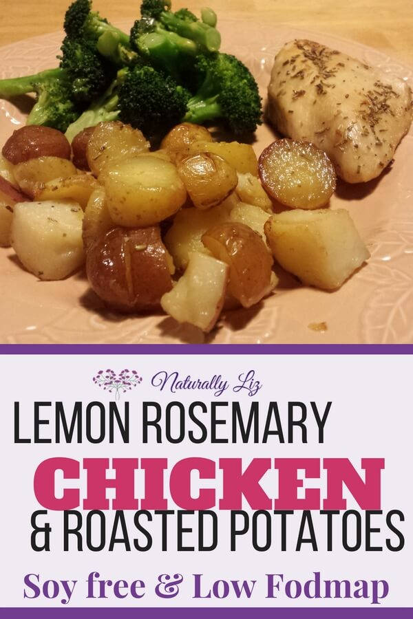 Lemon Rosemary Chicken with Roasted Potatoes (Low Fodmap, Soy Free, Gluten Free, Coconut Free)