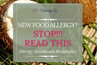 New Food Allergy, stop and read this!
