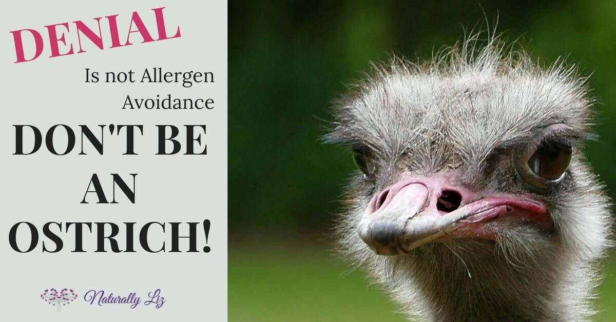 Denial is not allergen avoidance!