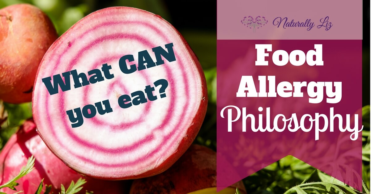What CAN you eat?!? A Food Allergy Philosophy