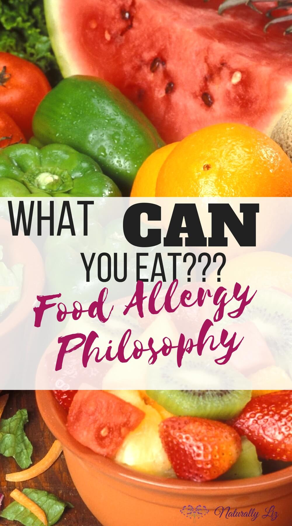 What can you eat? Food Allergy Philosophy