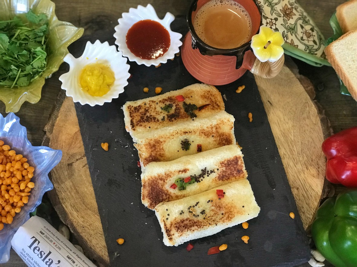 """""""Crunchy outside and creamy inside, these Boondi Rolls are truly mouth drooling and flavorsome preparation for breakfasts."""". The first thing that comes to mind when I open the fridge in the morning is, """"How about making an exciting breakfast from it?"""" Trust me transforming a dish is a quite challenging task, but then I guess that's the fun of cooking. Yesterday morning at home, we had some boondi raita that was from the night before. Somehow, the morning rush sparked my creativity and resulted in a delicious breakfast."""