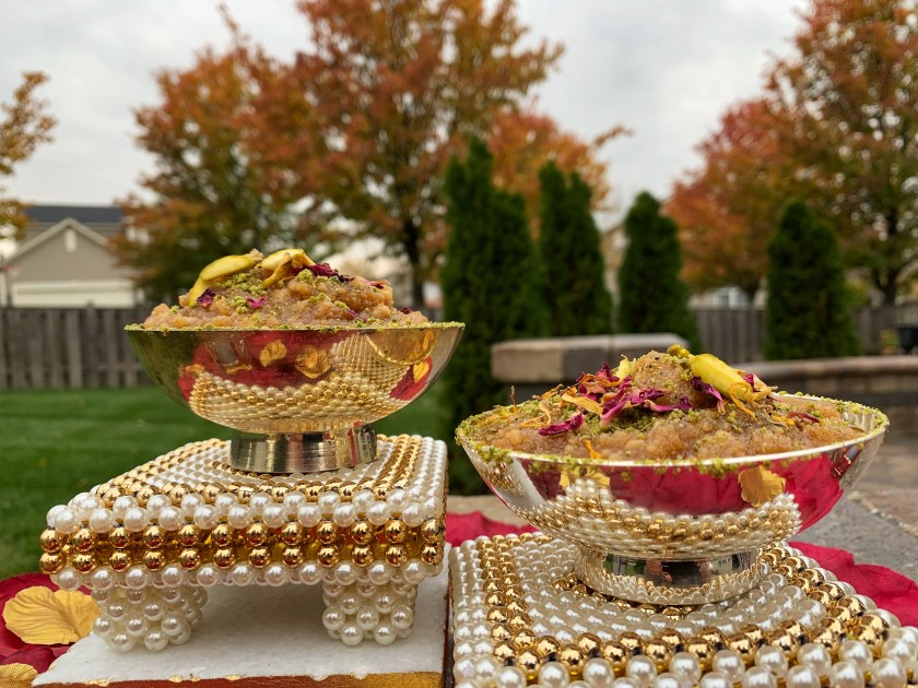Badam ka Halwa made with almonds is a delicacy rooted in Indian tradition. May it be marriage, festival or winters, it is an indispensable dish made in our homes to mark richness and happiness of a celebration. This is my special quick and easy microwave recipe which is not as time-consuming as a traditional recipe, takes less than half the time as the almonds are dried in a microwave, but is equally toothsome and delightful. Make it on special occasions like Diwali and savor the unparalleled richness of this dessert.