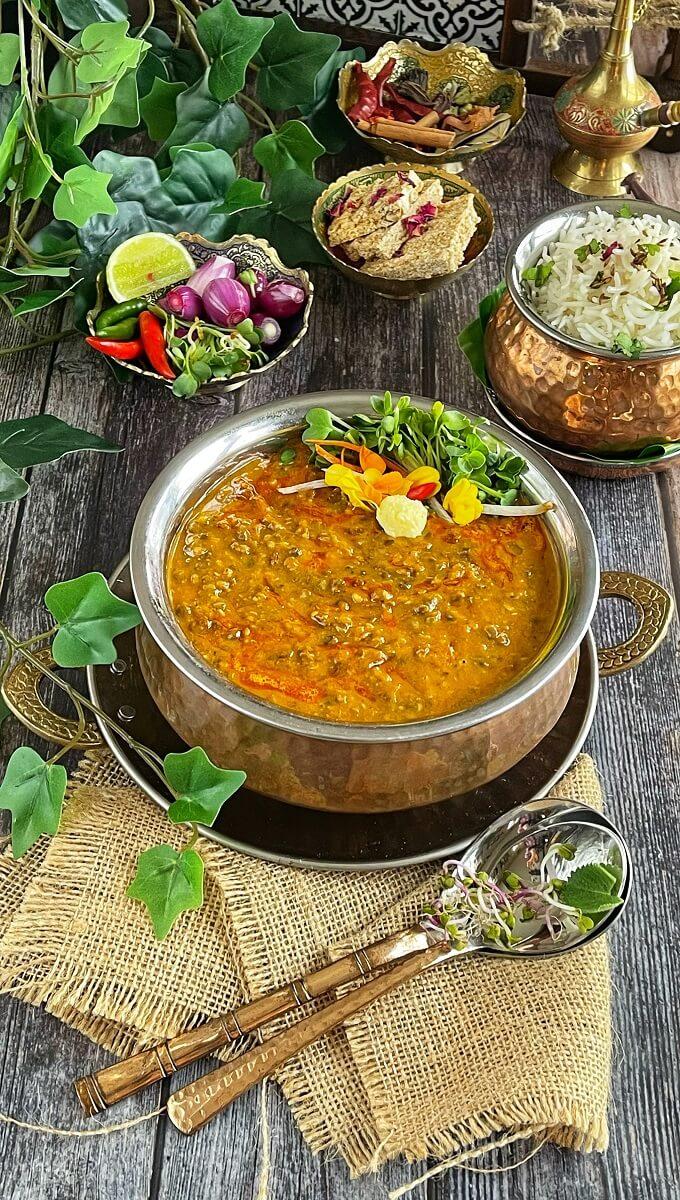 Dal Makhani (Instant Pot or Stovetop)