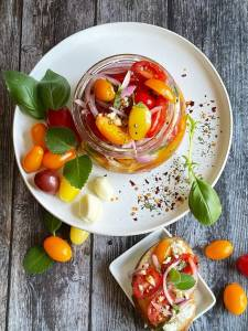 Marinated Cherry Tomatoes