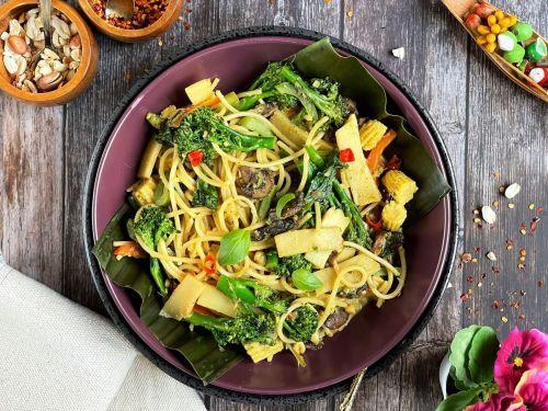 Thai Green Curry Pasta