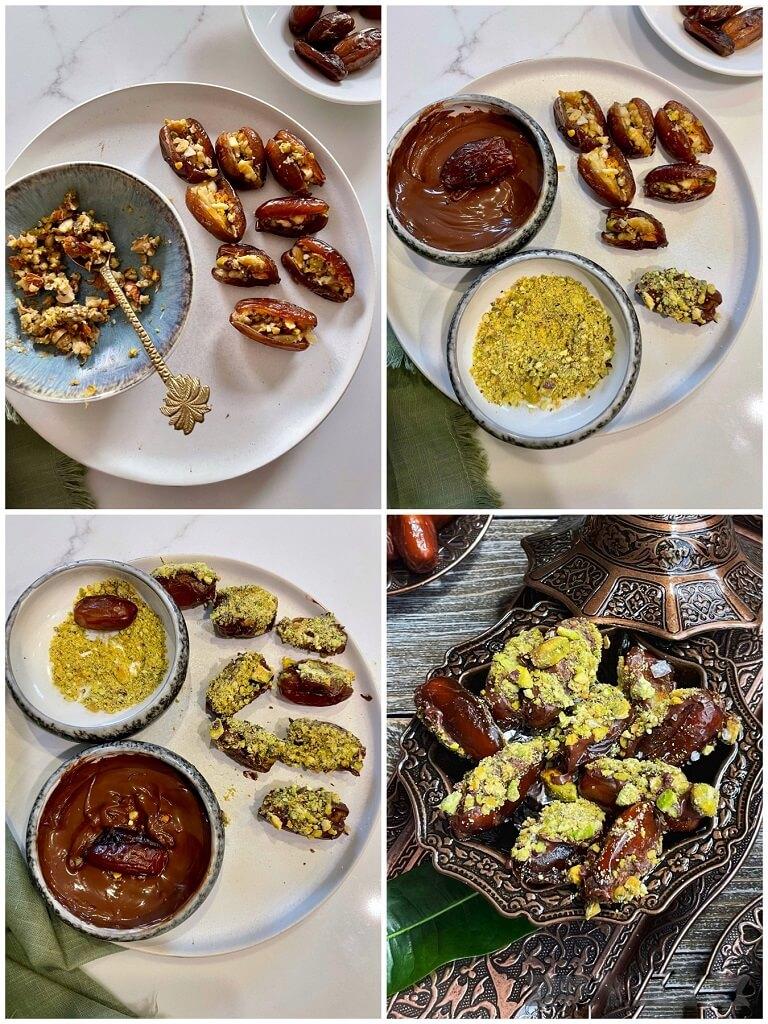 Baklava Stuffed Dates