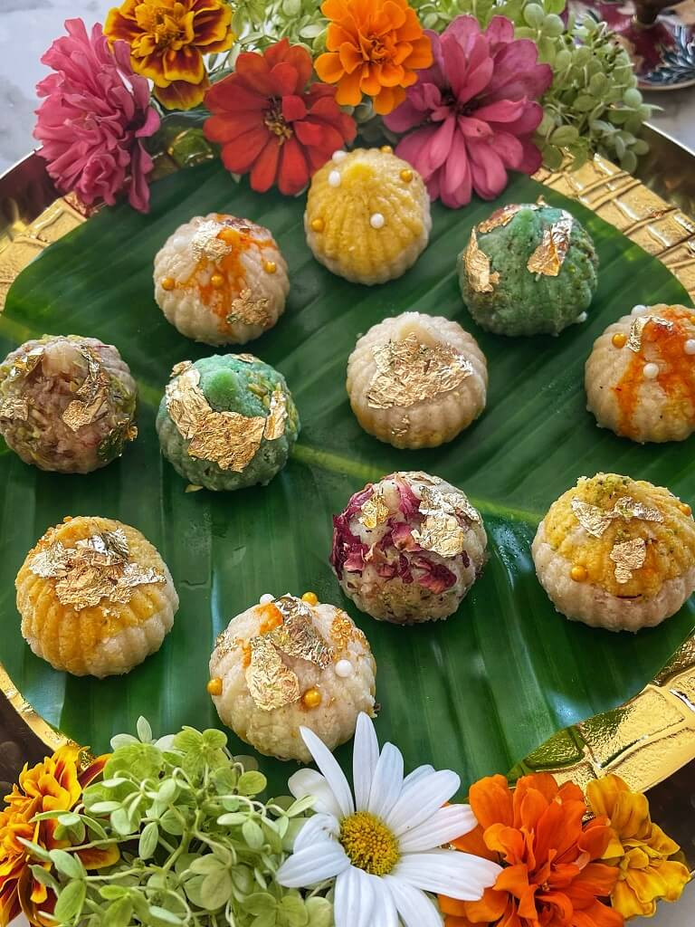 Coconut Almond Modak