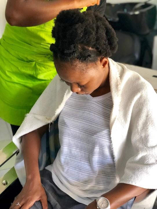 Natural Hair Salon Experience In Ghana Naturallysini