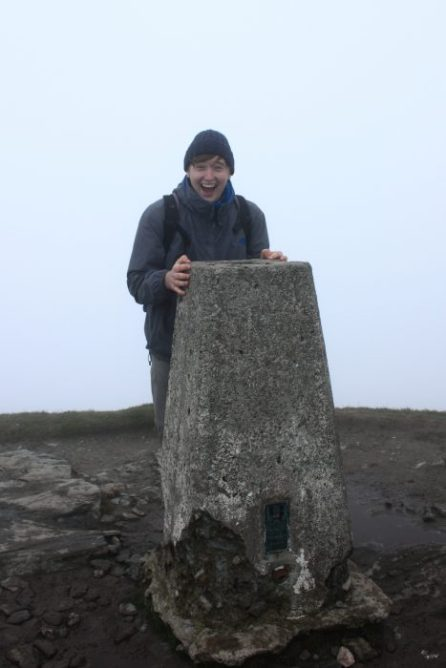 Reached the summit! © Angus Lothian