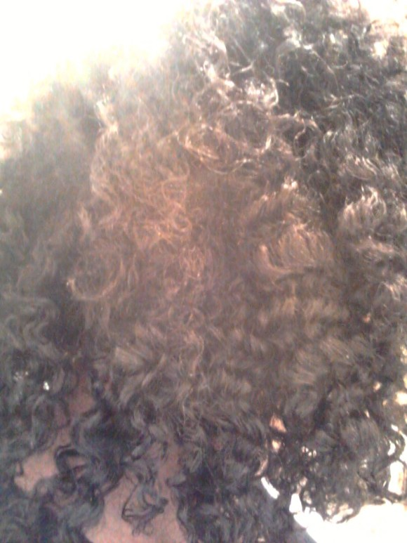 Braid out on natural hair using Miss Jessie's Curly Meringue & Shea Butter. naturallystellar.com