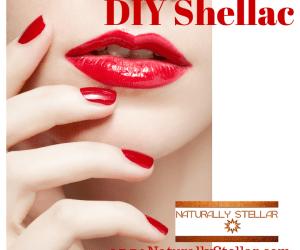 DIY Shellac Mani - At Home