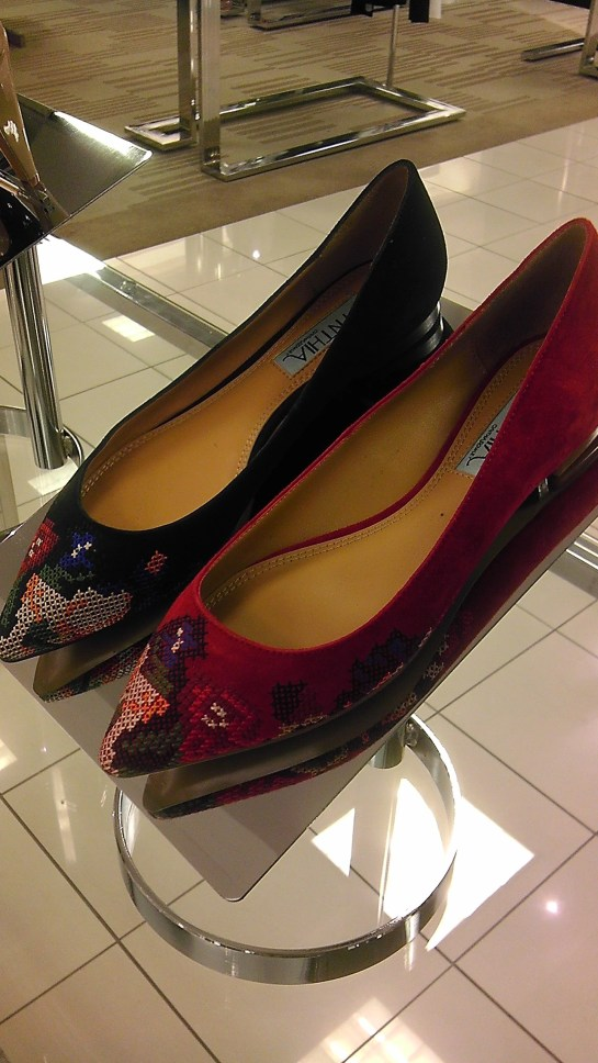 Flats, fashion, belk, cynthia rowley, fall, preview, shoes, tapestry, textured