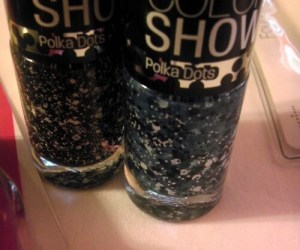 Cosmetics, Maybelline, Color Show, Nail Polish, Polka Dots, Walmart, Beauty