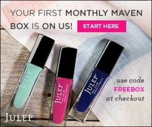 Julep, Maven, Beauty Box, Naturally Stellar, Nail Polish, Spring, Free, Welcome, Monthly Subscription Boxes