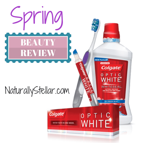 Colgate, Optic White, Beauty, Review, Influenster, Naturally Stellar, Whitening, Teeth, Tooth Whitening, Women