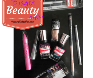 Beauty, Walmart, Target, Budget, haul, Naturally Stellar,