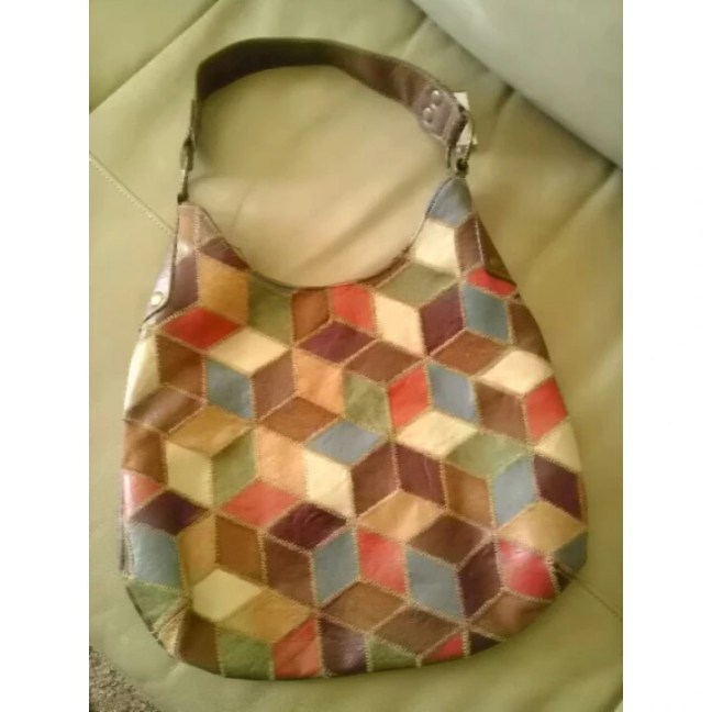 Purse, Spring, Color Block, Hobo, Goodwill, Thrift, Thrifty Thursday