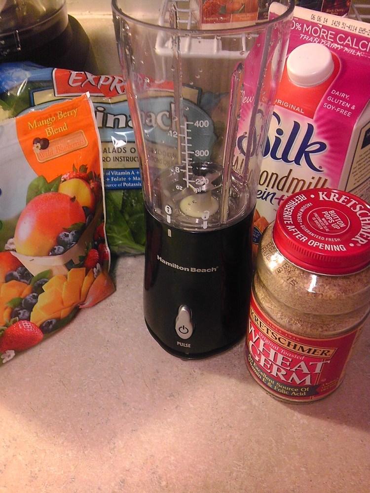 Green Berry Protein Smoothie Recipe Ingredients
