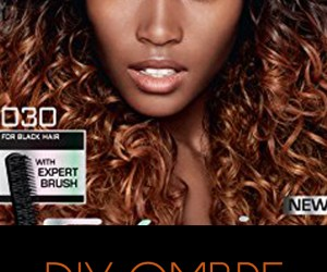 DIY Ombre for Dark Natural Hair | Naturally Stellar