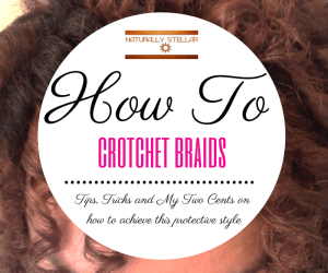 How To Crotchet Braids