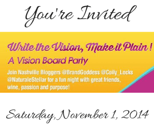 Nashville Vision Board Party