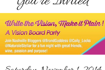 Nashville Vision Board Party