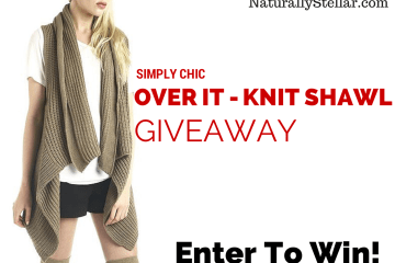 Giveaway for Shawl Vest