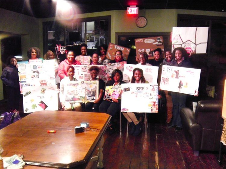 Nashville Vision Board Party At Thistle Stop Cafe 2014