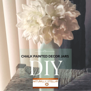 DIY Star | Chalk Painted Decor Jars and Accent Pieces