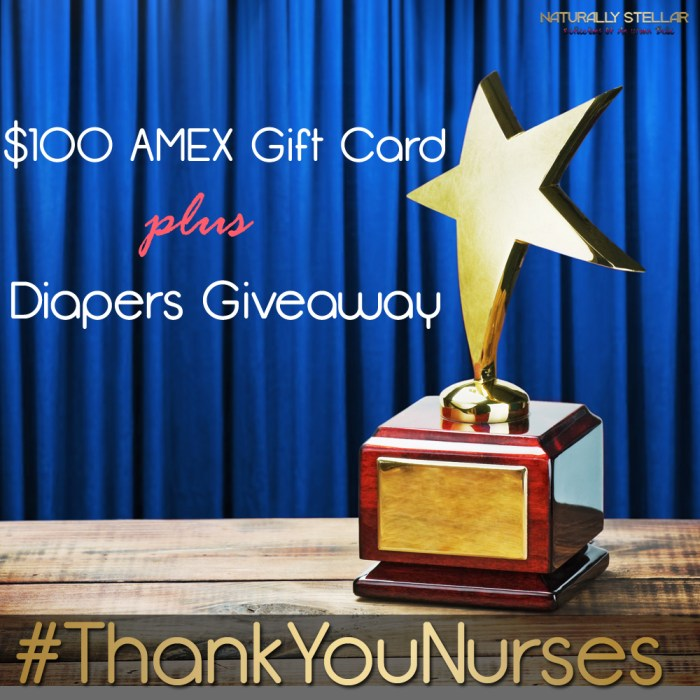I Want To Say #ThankYouNurses + $100 AMEX Giveaway