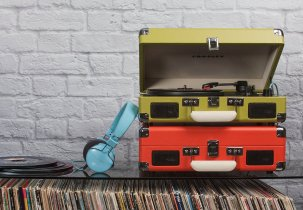 Crosley Portable Turntable   2015 Urban Belle Holiday Gift Guide