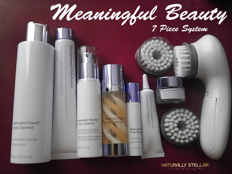 Meaningful Beauty 7 Piece System with bonus facial brush