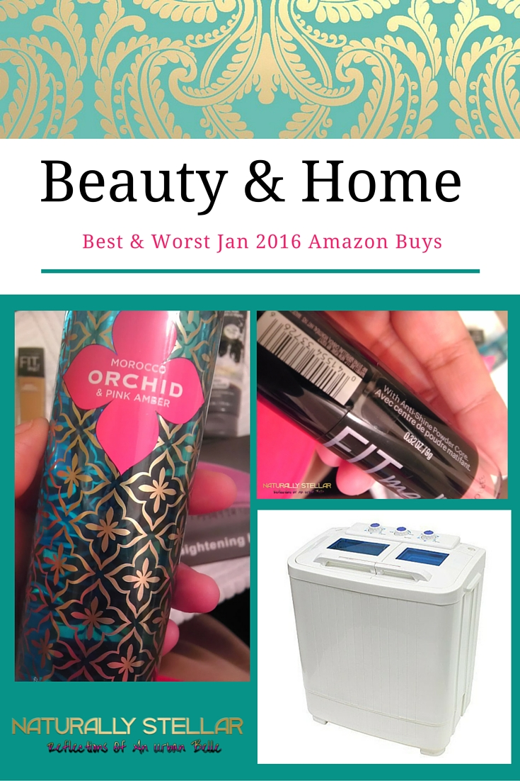 Amazon Beauty and Home January 2016 | Naturally Stellar