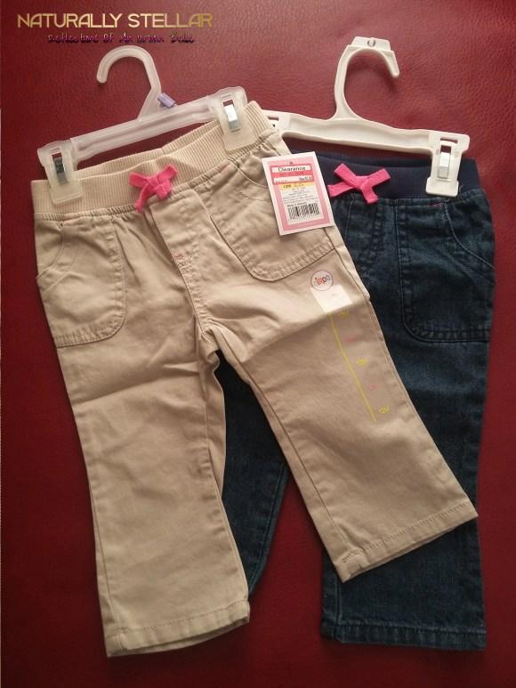 Baby Girl's Denim Pants 12m Target | Naturally Stellar